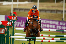 Hakvoort Iris, NED, Don't Tell me What to Do<br /> European Championship Children, Juniors, Young Riders - Fontainebleau 1028<br /> © Hippo Foto - Dirk Caremans<br /> Hakvoort Iris, NED, Don't Tell me What to Do