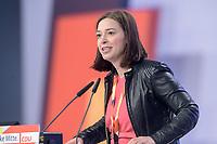 22 NOV 2019, LEIPZIG/GERMANY:<br /> Yvonne Margwas, MdB, CDU, haelt eine Rede, CDU Bundesparteitag, CCL Leipzig<br /> IMAGE: 20191122-01-271<br /> KEYWORDS: Parteitag, party congress