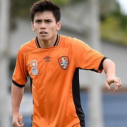 BRISBANE, AUSTRALIA - DECEMBER 10: Joe Caletti of the Roar gives instructions during the round 5 Foxtel National Youth League match between the Brisbane Roar and Adelaide United at AJ Kelly Field on December 10, 2016 in Brisbane, Australia. (Photo by Patrick Kearney/Brisbane Roar)