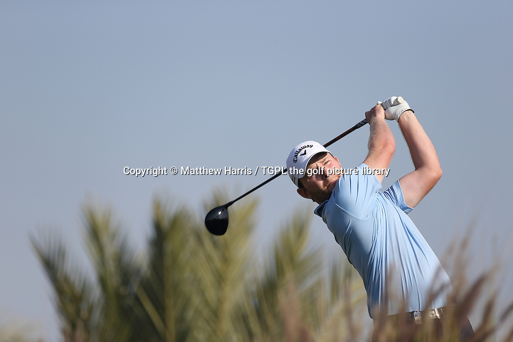 Branden GRACE (RSA) during second round Commercialbank Qatar Masters 2014,Doha Golf Club,Doha,Qatar.