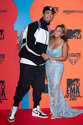 Afrojack and Elettra Miura Lamborghini attend the MTV EMAs 2019 at FIBES Conference and Exhibition Centre on November 03, 2019 in Seville, Spain. Photo by ABACAPRESS.COM