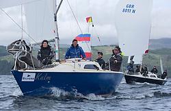 Silvers Marine Scottish Series 2017<br /> Tarbert Loch Fyne - Sailing Day 3<br /> <br /> GBR8173N, Kalm, Steven Lyon, Cove, Sonata OD