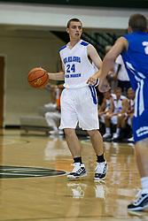 23 June 2012: Joe Heath.  Illinois Basketball Coaches Association (IBCA) All Star game at Shirk Center, Illinois Wesleyan, Bloomington, IL