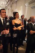 ROSANA DE SOUZA SILVA, Cartier Tank Anglaise launch. Kensington Palace Orangery, London.  19 April 2012.