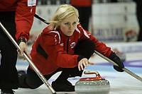 Curling<br /> EM 2009 Aberdeen<br /> 07.12.2009<br /> Foto: EQ Images/Digitalsport<br /> NORWAY ONLY<br /> <br /> Skip Linn Githmark (NOR)