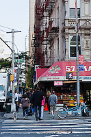 crossing in New York City in October 2008