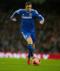 15.02.2014, Etihad Stadion, Manchester, ESP, FA Cup, Manchester City vs FC Chelsea, Achtelfinale, im Bild Chelsea's Fernando Torres, action against Manchester City // during the English FA Cup Round of last 16 Match between Manchester City and FC Chelsea at the Etihad Stadion in Manchester, Great Britain on 2014/02/15. EXPA Pictures © 2014, PhotoCredit: EXPA/ Propagandaphoto/ David Rawcliffe<br /> <br /> *****ATTENTION - OUT of ENG, GBR*****