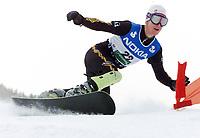 Snowboard,14. januar 2003 VM, Parallellstorslalåm: Alexander Lien, Norge<br /> Foto: Calle Törnström, Digitalsport