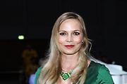 Boxen: WIBF-, GBU-, WBU-Weltmeisterschaft, Fliegengewicht, Susi Kentikian (GER) - Nevenka Mikulic (CRO), Hamburg, 30.07.2016<br /> Regina Halmich<br /> © Torsten Helmke