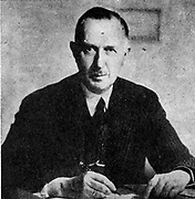 Dr Wilhelm Fabricius, German minister to Bucharest.