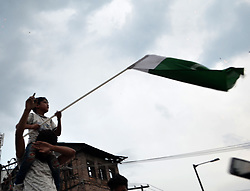 June 18, 2017 - Srinagar, Jammy and Kashmir, India - Celebrations in Kashmir over the possible Pakistan's win over India in cricket champions trophy. (Credit Image: © Muzamil Mattoo/Pacific Press via ZUMA Wire)