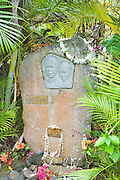 Jacques Brel's grave, Atuona, Hiva Oa, Marquesa Islands, French Polynesia<br />