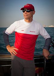 Torbjorn Tornqvist. RR2. Artemis Racing (SWE) vs. Mascalzone Latino Audi Team (ITA). Dubai, United Arab Emirates, November 22nd 2010. Louis Vuitton Trophy  Dubai (12 - 27 November 2010) © Sander van der Borch / Artemis Racing