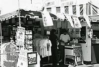 1987 Tourist souvenir shop on Hollywood Blvd.