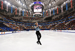 January 17, 2018 - Moscow, Russia - Figure skater Sondre Oddvoll Boe of Norway performs his short program during a men's singles competition at the 2018 ISU European Figure Skating Championships, at Megasport Arena in Moscow, Russia  on January 17, 2018. (Credit Image: © Igor Russak/NurPhoto via ZUMA Press)