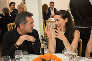 HAN TUMERTEKIN; VICTORIA SIDDALL, Dinner to celebrate the 10th Anniversary of Contemporary Istanbul Hosted at the Residence of Freda & Izak Uziyel, London. 23 June 2015