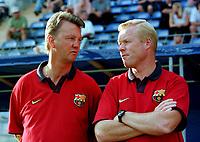 Fotball<br /> Barcelona Historie<br /> Foto: Witters/Digitalsport<br /> NORWAY ONLY<br /> <br /> Louis VAN GAAL / Ronald KOEMAN<br /> Fussballtrainer FC Barcelona<br /> 1999