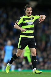 1st March 2017 - FA Cup - 5th Round (Replay) - Manchester City v Huddersfield Town - Dean Whitehead of Huddersfield - Photo: Simon Stacpoole / Offside.