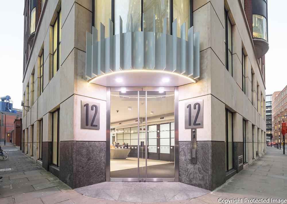 12 Appold Street Refurbishment, 2016. Architect: Barr Gazetas