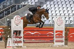 Souverreyns Rouin, BEL, Kannem J.A.Z.<br /> Pavo Hengsten competitie - Oudsbergen 2021<br /> © Hippo Foto - Dirk Caremans<br />  22/02/2021