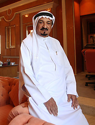 Sheikh Humaid bin Rashid Al Nuaimi, the Ruler of Ajman. Photo by: Stephen Lock/i-Images