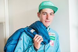 Timi Zajc during press conference of Slovenian Nordic Ski team before new season 2017/18, on November 14, 2017 in Gorenje, Ljubljana - Crnuce, Slovenia. Photo by Vid Ponikvar / Sportida