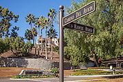 Bear Brand Ranch Entrance at Camino Del Avion and Old Ranch Road