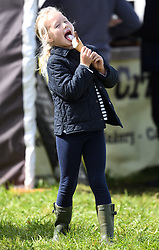 The Whatley Manor International Horse Trials at Gatcombe Park, Minchinhampton, Gloucestershire, UK, on the 9th September 2017. 09 Sep 2017 Pictured: Savannah Phillips. Photo credit: James Whatling / MEGA TheMegaAgency.com +1 888 505 6342