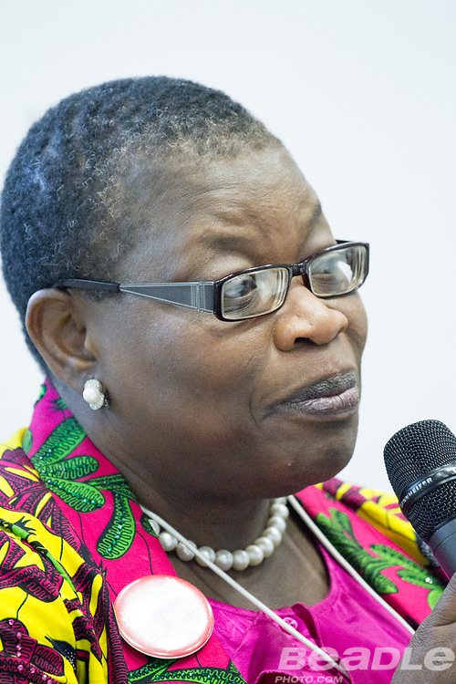 Obiageli Katryn Ezekwesili, Senior Economic Adviser and Public Policy Analyst<br /> Africa Economic Policy Development Initiative at the World Economic Forum on Africa 2017 in Durban, South Africa. Copyright by World Economic Forum / Greg Beadle