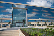 """An exterior view of the new Dallas Cowboys headquarters in Frisco, Texas on August 23, 2016. """"CREDIT: Cooper Neill for The Wall Street Journal""""<br /> TX HS Football sponsorships"""