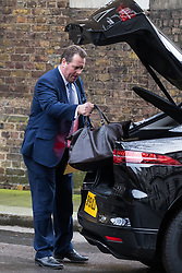 London, UK. 16 December, 2019. Mark Spencer, Chief Whip, leaves 9 Downing Street on the day of a small Cabinet reshuffle following the Conservatives' general election victory.