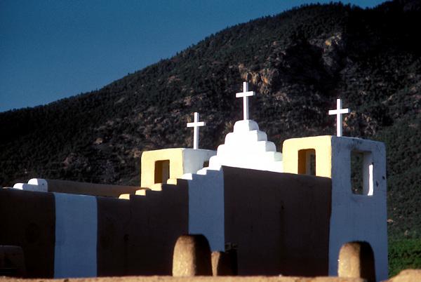 Exterior of San Geronimo Chapel at Taos Pueblo