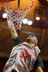 07 October 2016: Christain Romine during the Illinois State Redbirds Hoopfest at Redbird Arena in Normal Illinois (Photo by Alan Look)