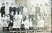 all girls school group portrait 1910s France