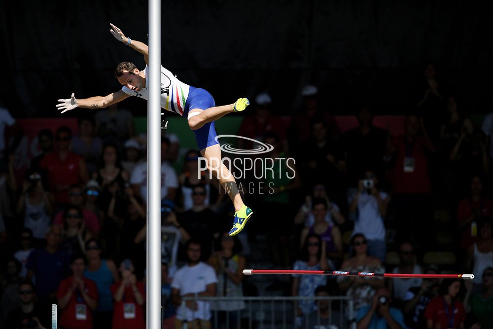 Renaud Lavillenie competes in men pole vault during the Athletics French Championships 2018, in Albi, France, on July 8th, 2018 - Photo Philippe Millereau / KMSP / ProSportsImages / DPPI