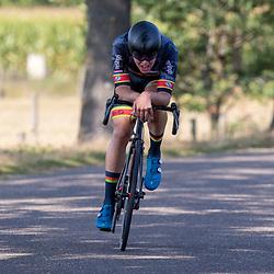 13-09-2020: Wielrennen: NK tijdrijden nieuwelingen en junioren: Chaam <br />Justus Willemsen
