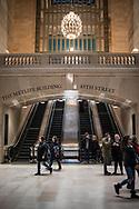 NEW YORK  2020V10<br /> Grand Central Station interior.<br /> <br /> Foto: Per Danielsson/Projekt.P