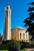 Albanie, Tirana, cathedrale orthodox de la resurrection du Christ // Albania, Tirana, Orthodox Cathedral of Resurrection of Christ
