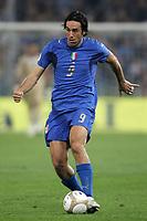 Genova 13/10/2007 Euro2008 Qualifying round - group B. qualificazioni Euro2008<br /> <br /> Italia Georgia - Italy Georgia 2-0<br /> <br /> Luca Toni Italia<br /> <br /> Foto Andrea Staccioli Insidefoto