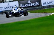 2012 British F3 International Series.Donington Park, Leicestershire, UK.27th - 30th September 2012.Geoff Uhrhane, Double R Racing..World Copyright: Jamey Price/LAT Photographic.ref: Digital Image Donington_F3-18342