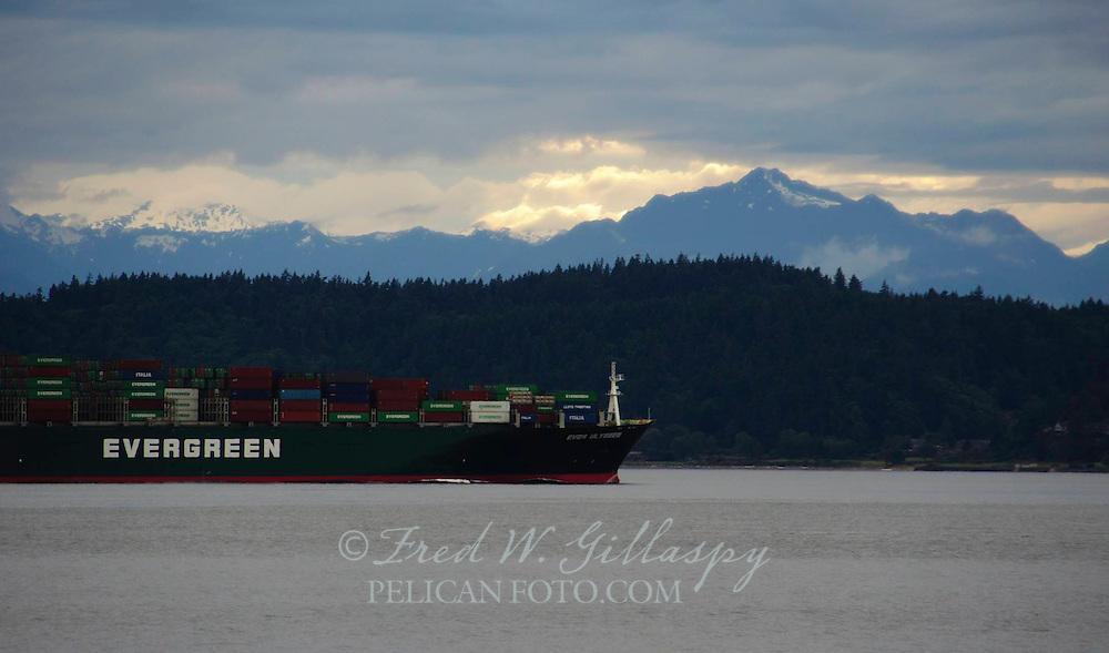 Puget Sound at Dusk