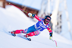 02.12.2016, Val d Isere, FRA, FIS Weltcup Ski Alpin, Val d Isere, Super G, Herren, im Bild Travis Ganong (USA) // Travis Ganong of the USA in action during the race of men's SuperG of the Val d'Isere FIS Ski Alpine World Cup. Val d'Isere, France on 2016/02/12. EXPA Pictures © 2016, PhotoCredit: EXPA/ Johann Groder