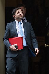 Downing Street, London, May 10th 2016. Work and Pensions Secretary Stephen Crabb leaves the weekly cabinet meeting in Downing Street.