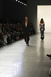 September 12, 2018 - New York, New York, U.S - September, 2018 - New York, New York  U.S. - Models on the runway at the HOGAN MCLAUGHLIN S/S 2019 RTW show during New York Fashion Week 2018.  (Credit image (c) Theano Nikitas/ZUMA Wire/ZUMAPRESS.com (Credit Image: © Theano Nikitas/ZUMA Wire)