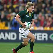 Jean De Villiers, South Africa, in action during the Wales V South Africa, Pool D match during the Rugby World Cup in Wellington, New Zealand,. 11th September 2011. Photo Tim Clayton