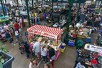 St  George's Market, Belfast, N Ireland, UK, GV, General View, August, 2019, 201908241260<br />