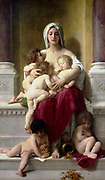 William Adolphe Bouguereau (1825 1905)   Charity (1878) French artist