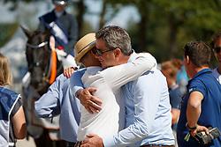 Van Olst Gert Jan, Hilberath Jonny<br /> World ChampionshipsYoung Dressage Horses<br /> Ermelo 2018<br /> © Hippo Foto - Dirk Caremans<br /> 05/08/2018