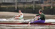 """Putney. London. GREAT BRITAIN;  IRL LM1X. Niall O""""TOOLE.<br /> <br /> 1995 Thames World Sculling Championships, Putney to Mortlake. Championship Course, River Thames.<br /> <br /> [Mandatory Credit; """"Photo, Peter Spurrier/Intersport-images]"""