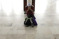 May 29, 2017 - Kuala Lumpur, Kuala Lumpur, Malaysia - A Muslim man offers the evening prayer on the third day of Ramadan. (Credit Image: © Kepy via ZUMA Wire)